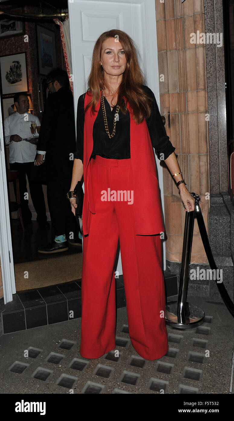 Amanda Wakeley 25th Anniversary Party at Harry s Bar - Arrivals Featuring   Angela Radcliffe Where  London 032ecc14b