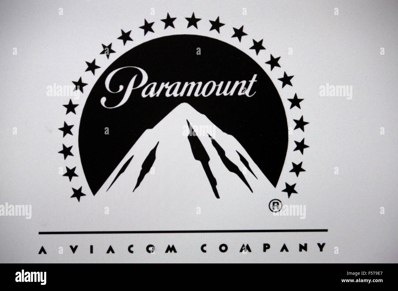 Markenname: 'Paramount Pictures', Berlin. - Stock Image