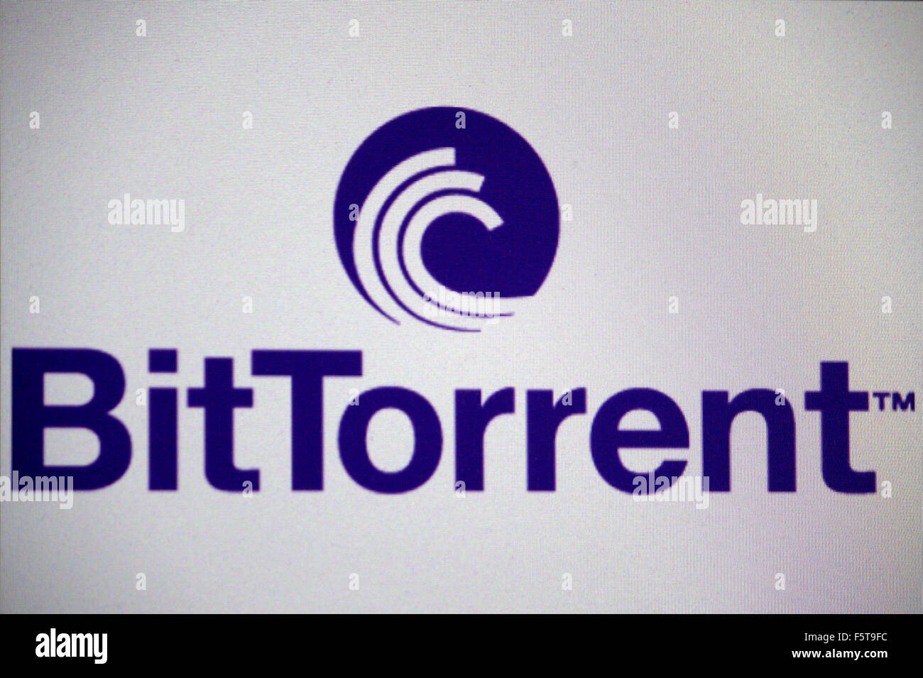 Markenname: 'Bit Torrent', Berlin. - Stock Image