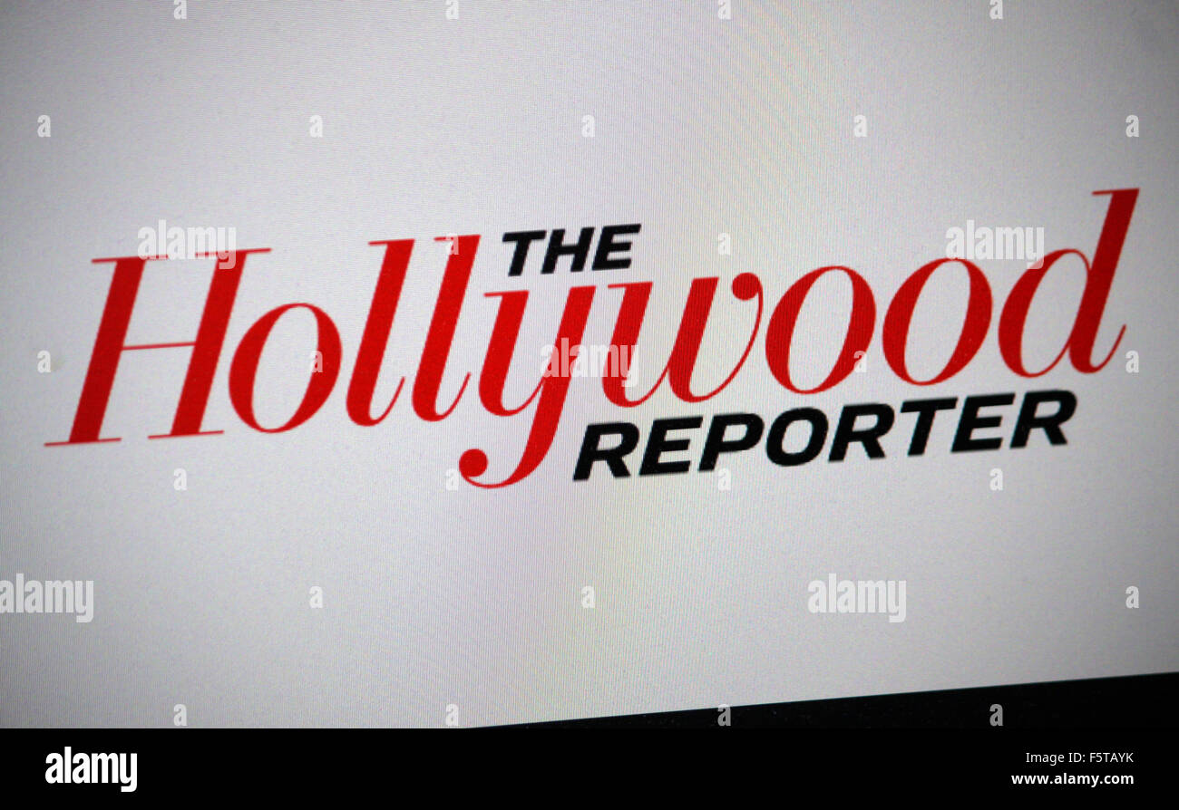 Markenname: 'Hollywood Reporter', Berlin. - Stock Image