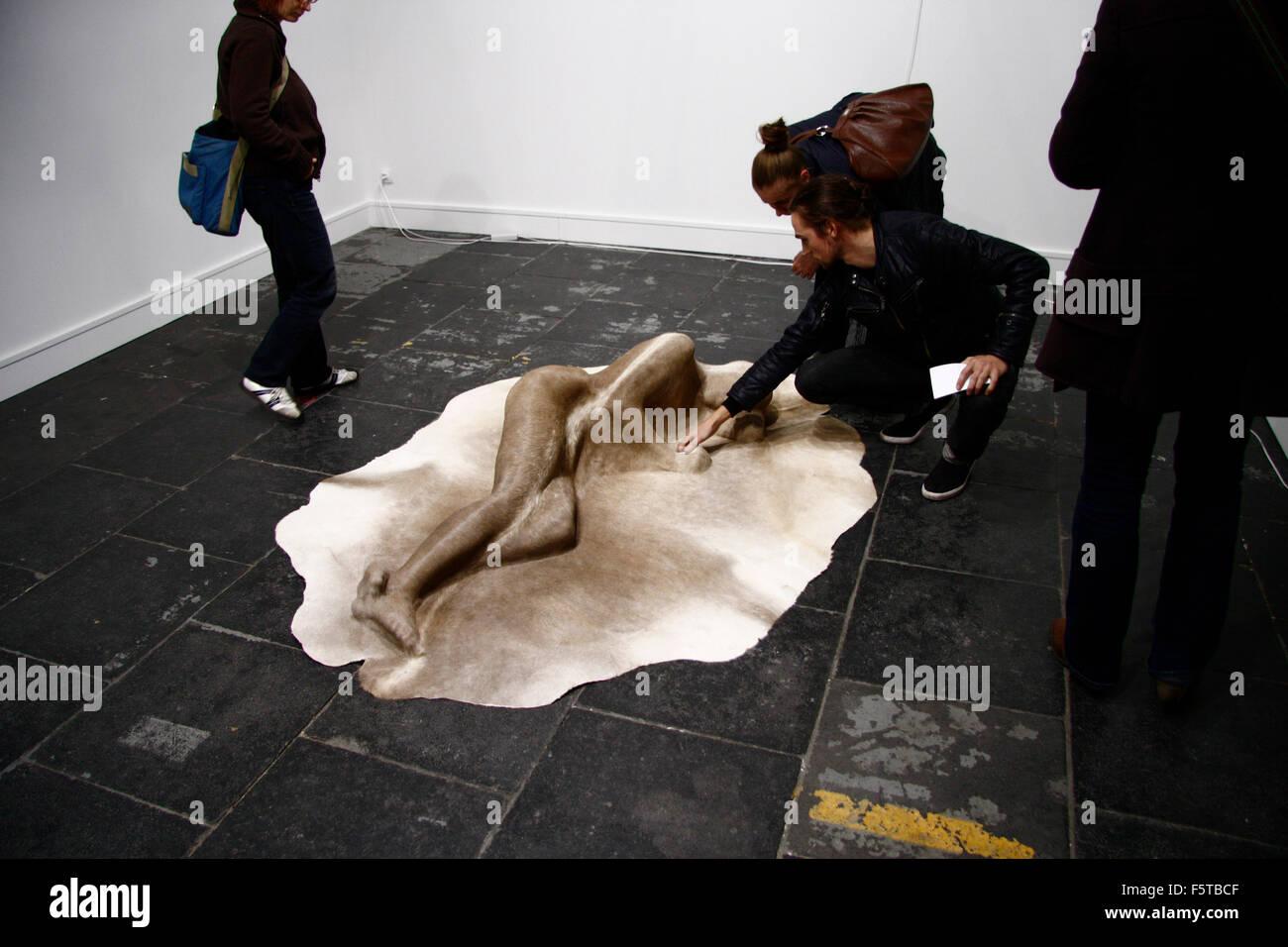 Impressionen - Kunstmesse fuer zeitgenoessische Kunst 'Preview Berlin 08', Hangar 2, Flughafen Tempelhof, - Stock Image