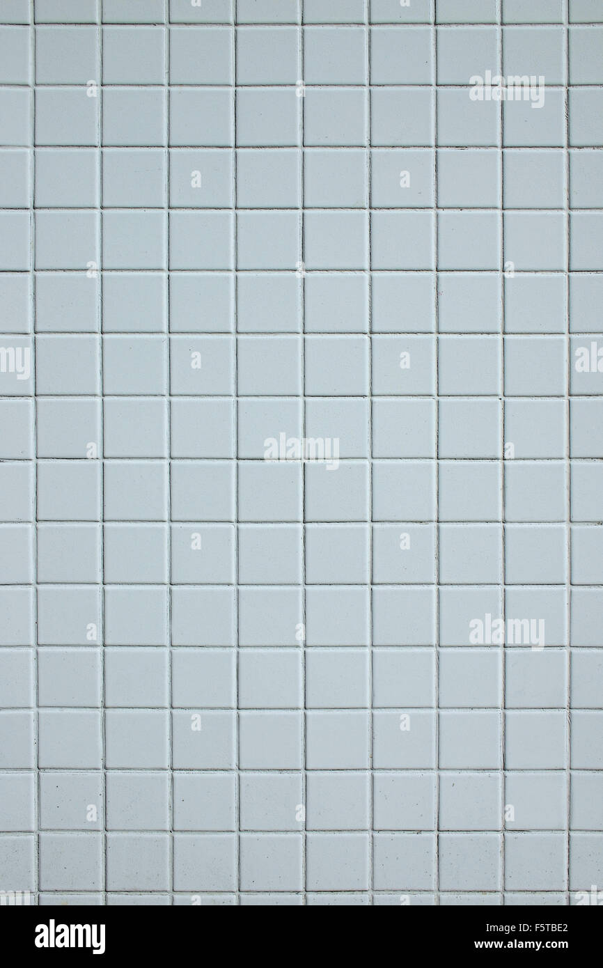White wall tiles.as a background - Stock Image