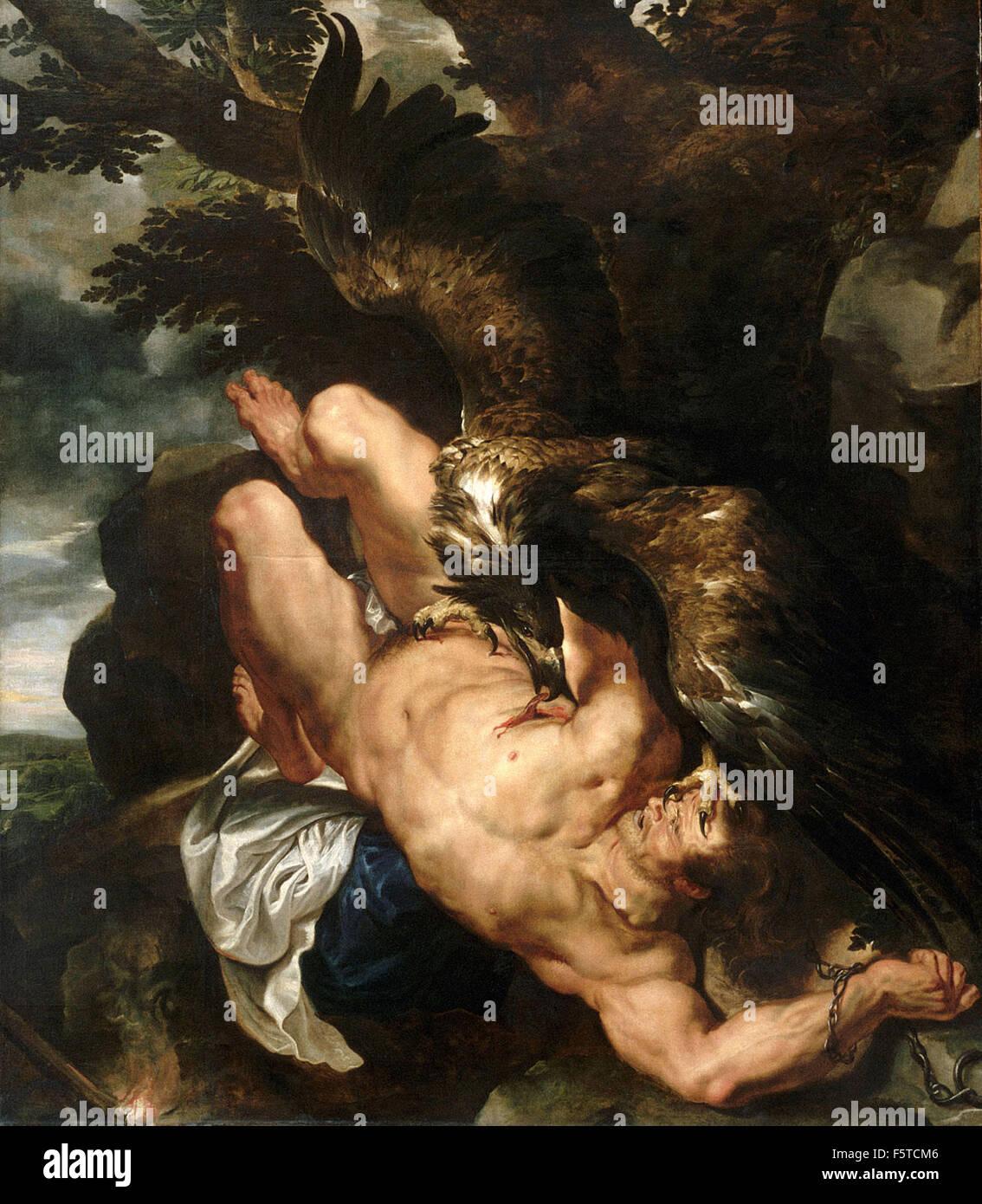 Peter Paul Rubens - Prometheus Bound - Stock Image
