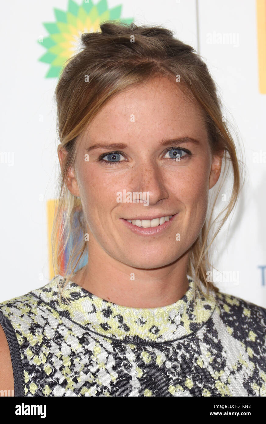 Team GB Olympic Ball 2015 held at the Royal Opera House - Arrivals  Featuring: Hannah Mills Where: London, United Stock Photo