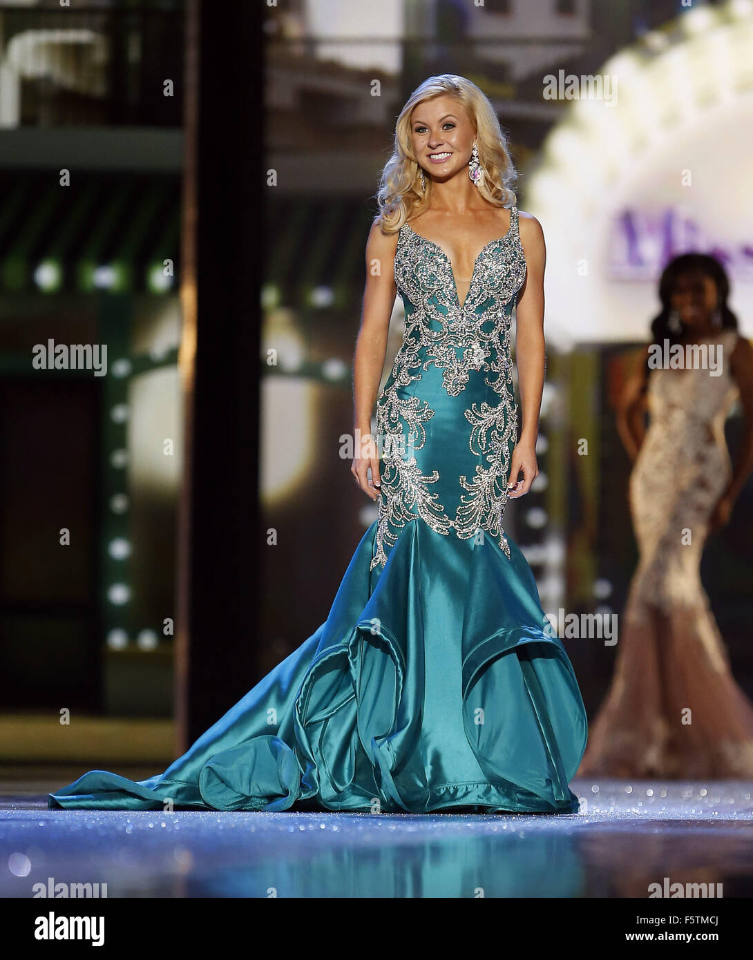 2016 Miss America Preliminary Competition Day 1 at Boardwalk Hall Atlantic City, NJ  Featuring: Miss New Mexico - Stock Image