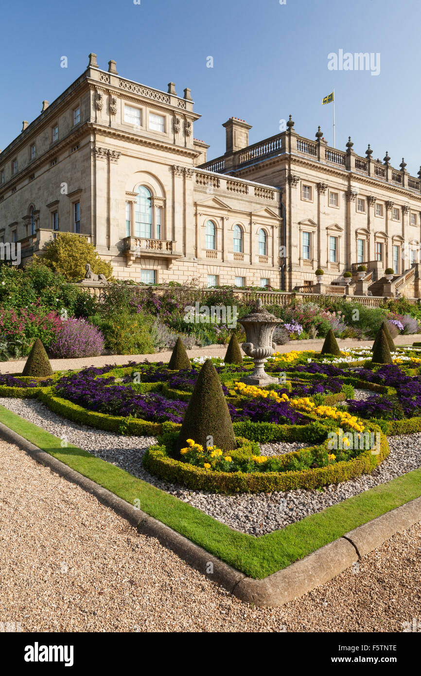 Yorkshire Terrace: Harewood House Stock Photos & Harewood House Stock Images