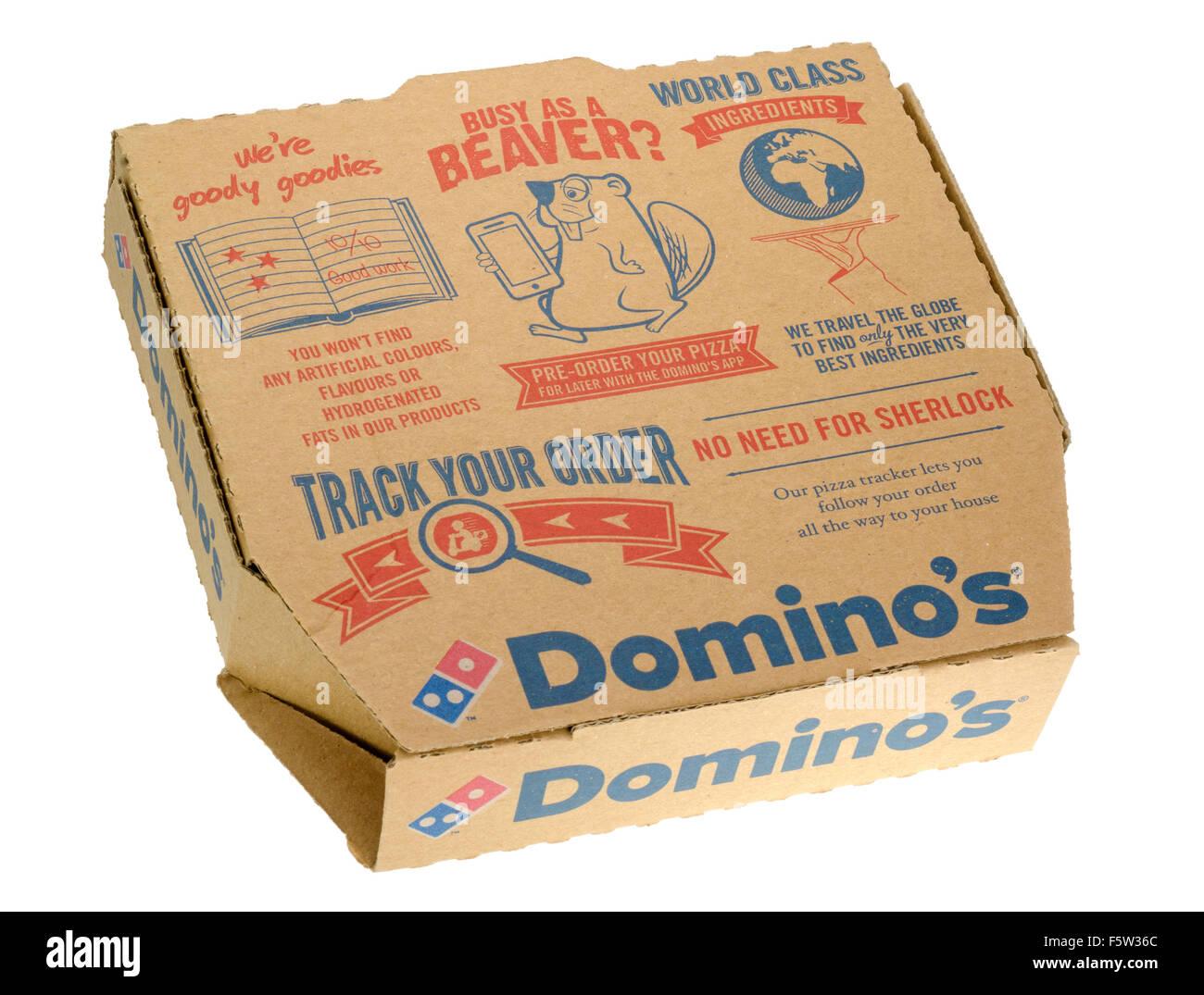 Domino's Pizza in a Box - Stock Image