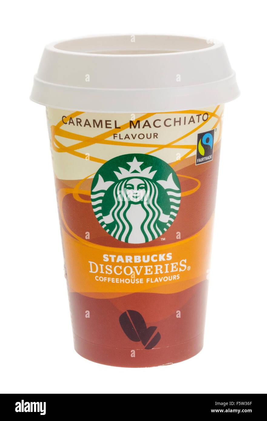 Starbucks Discoveries Take Away Coffee - Stock Image