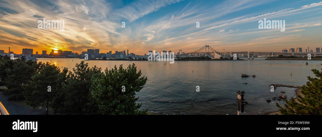 Odaiba, Tokyo Bay, Japan - Stock Image