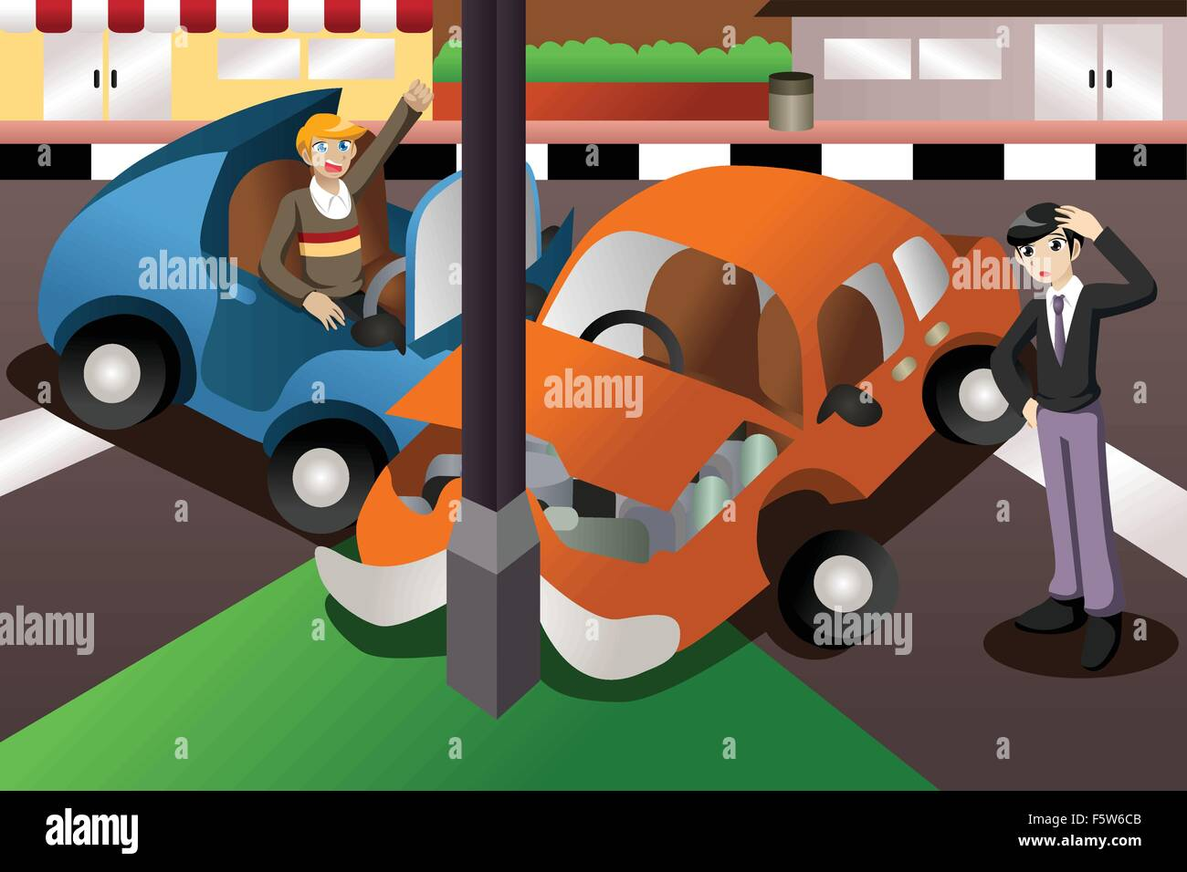 Accident Vectors Stock Photos Amp Accident Vectors Stock
