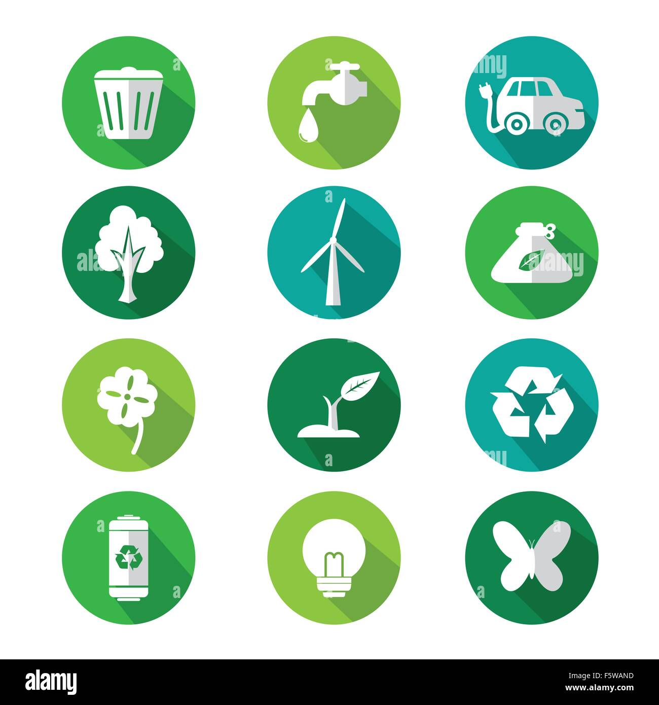 Go Green Vector Vectors Cut Out Stock Images Pictures Alamy