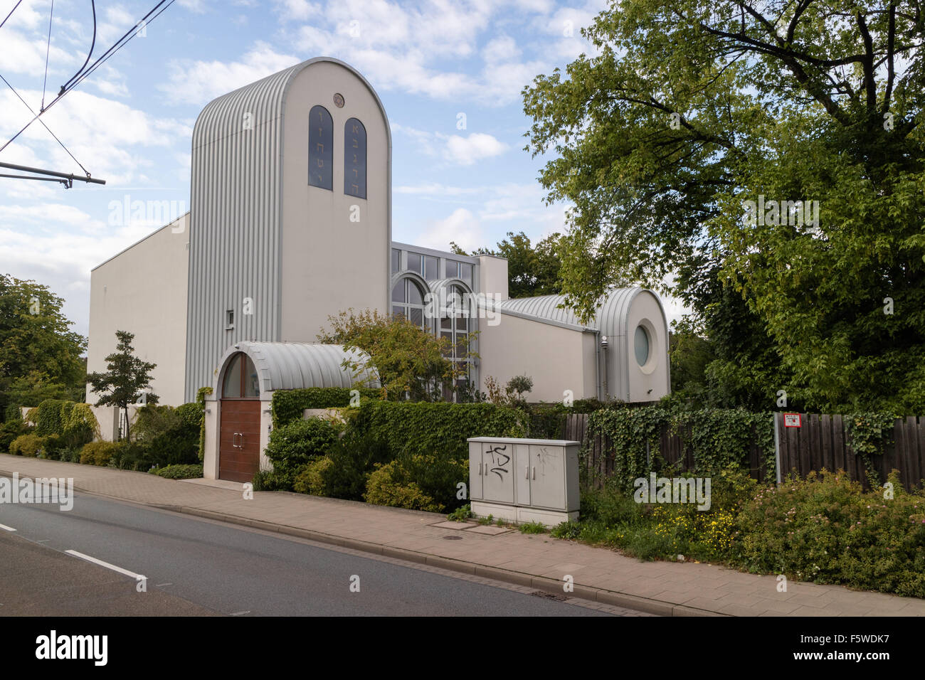 Synagogue on Detmolder Strasse, Bielefeld, Germany - Stock Image