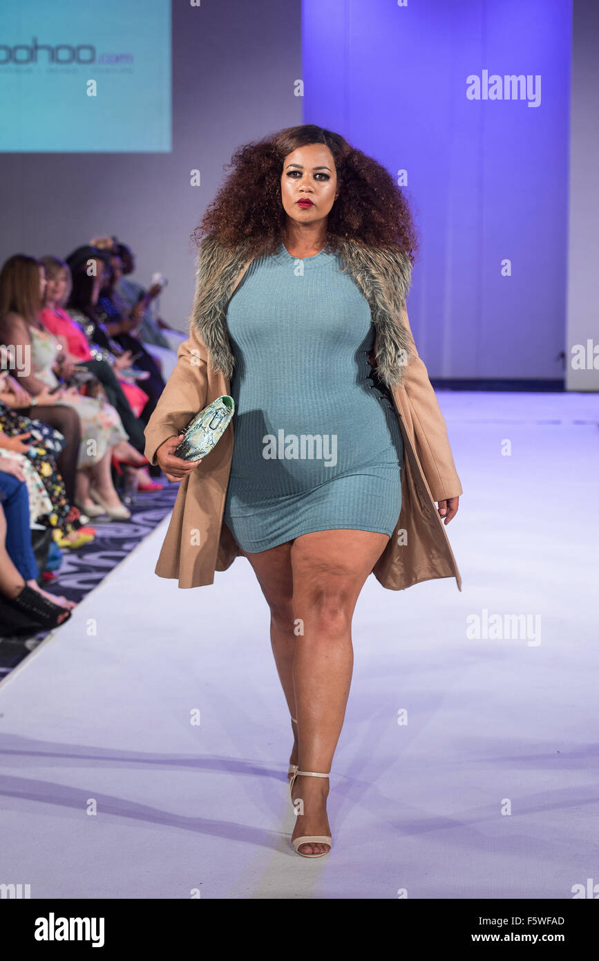 a0c9b1c08cc UK Plus Size Fashion Week - Catwalk show held at 8 Northumberland Avenue  Featuring  Model Where  London