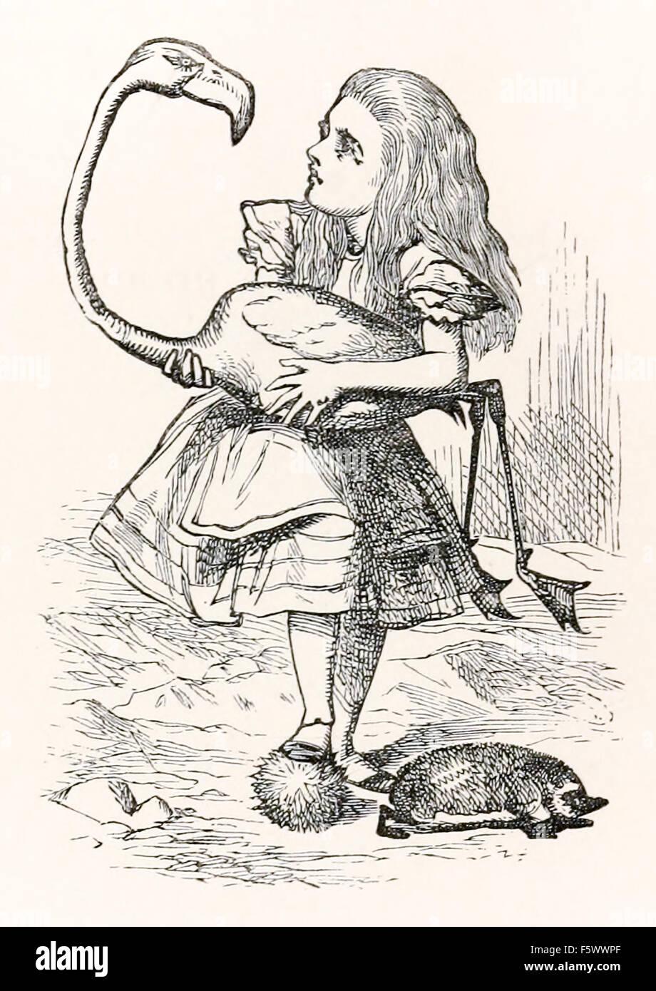 alice in wonderland - Stock Image