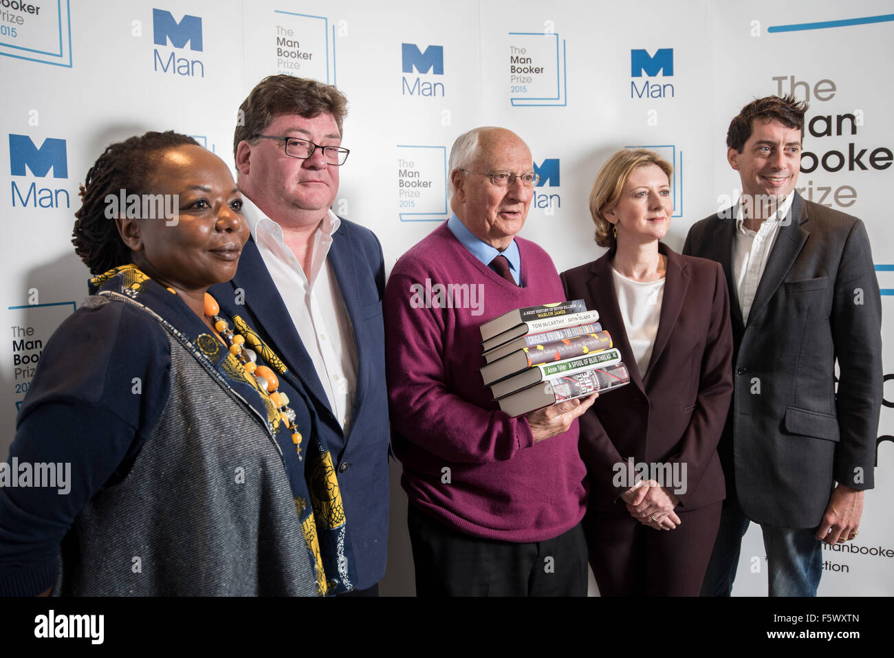 booker prize short list announcement and photocall with the judges