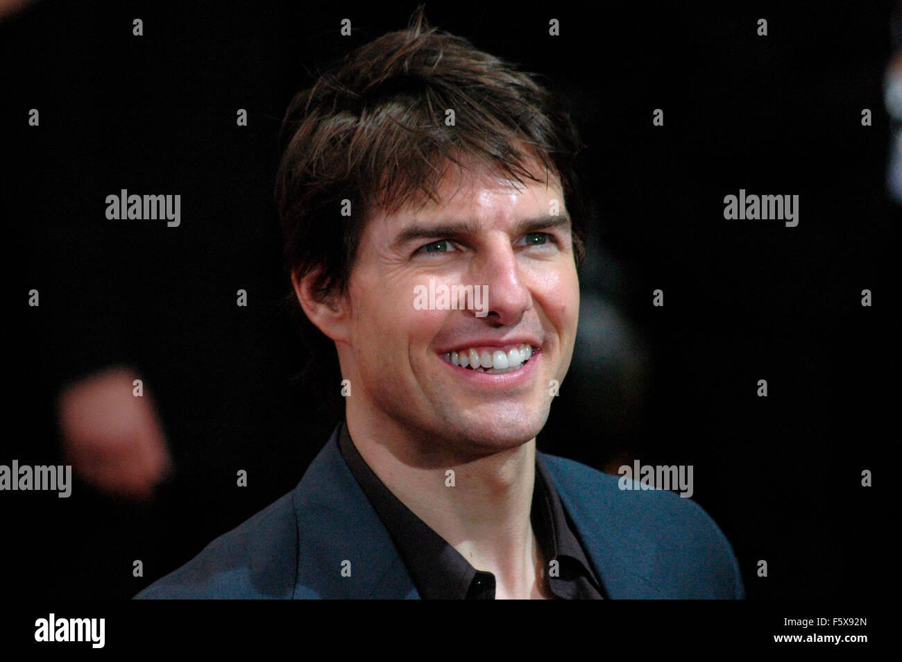 Tom Cruise - Premiere des Spielfilms 'Krieg der Welten' am 14. Juni 2005 im Musical-Theater am Marlene Dietrich - Stock Image