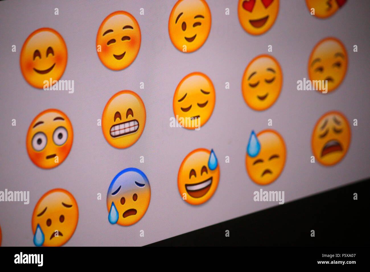 'Emoji', Berlin. - Stock Image