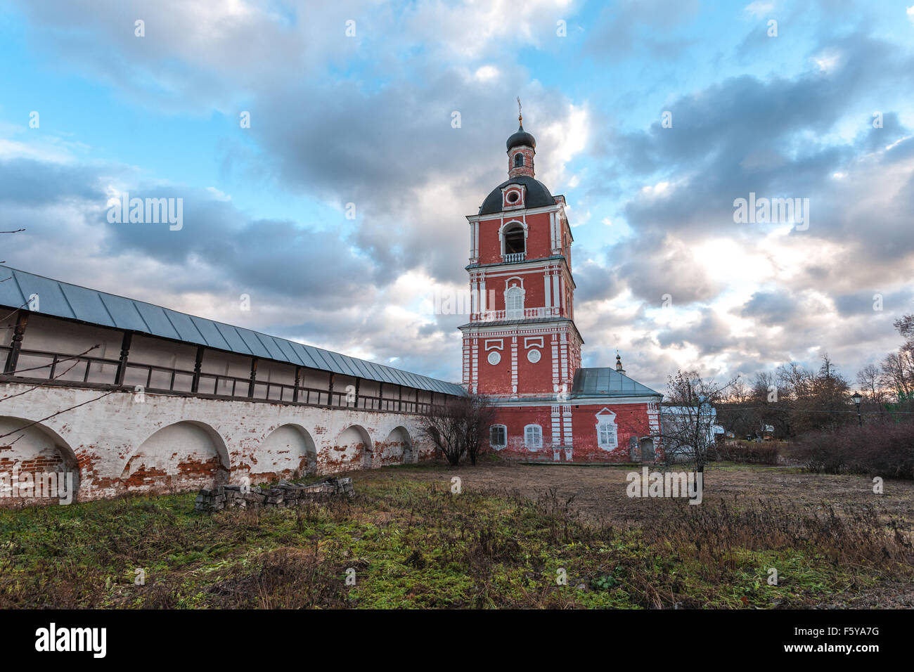 Pereslavl-Zalessky, Russia - November 03, 2015: Goritsky Monastery of Dormition, it was based in the first half - Stock Image