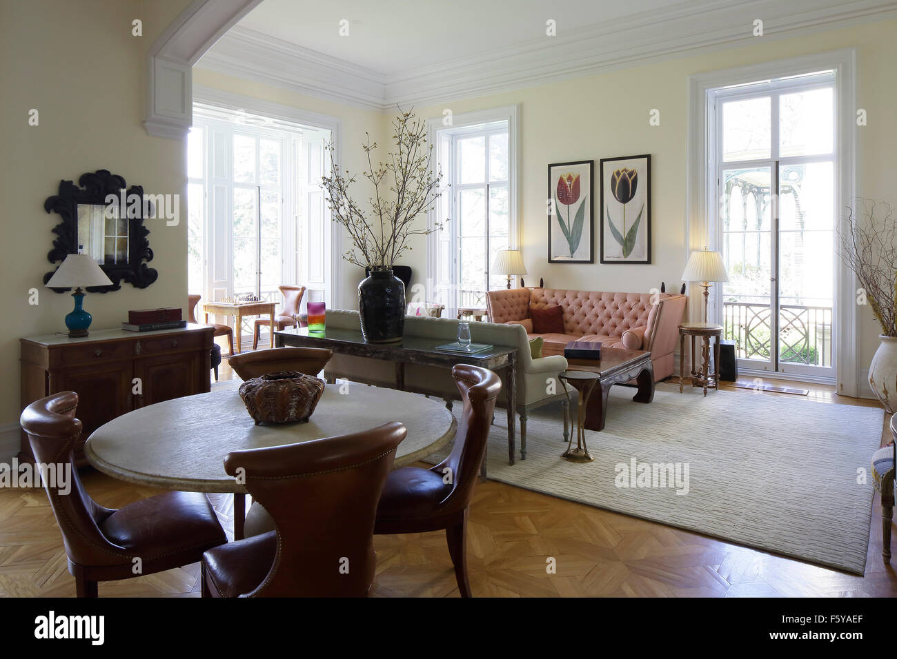 Sitting Room Off Eat In Kitchen On Main Floor Clifton Place Irvington