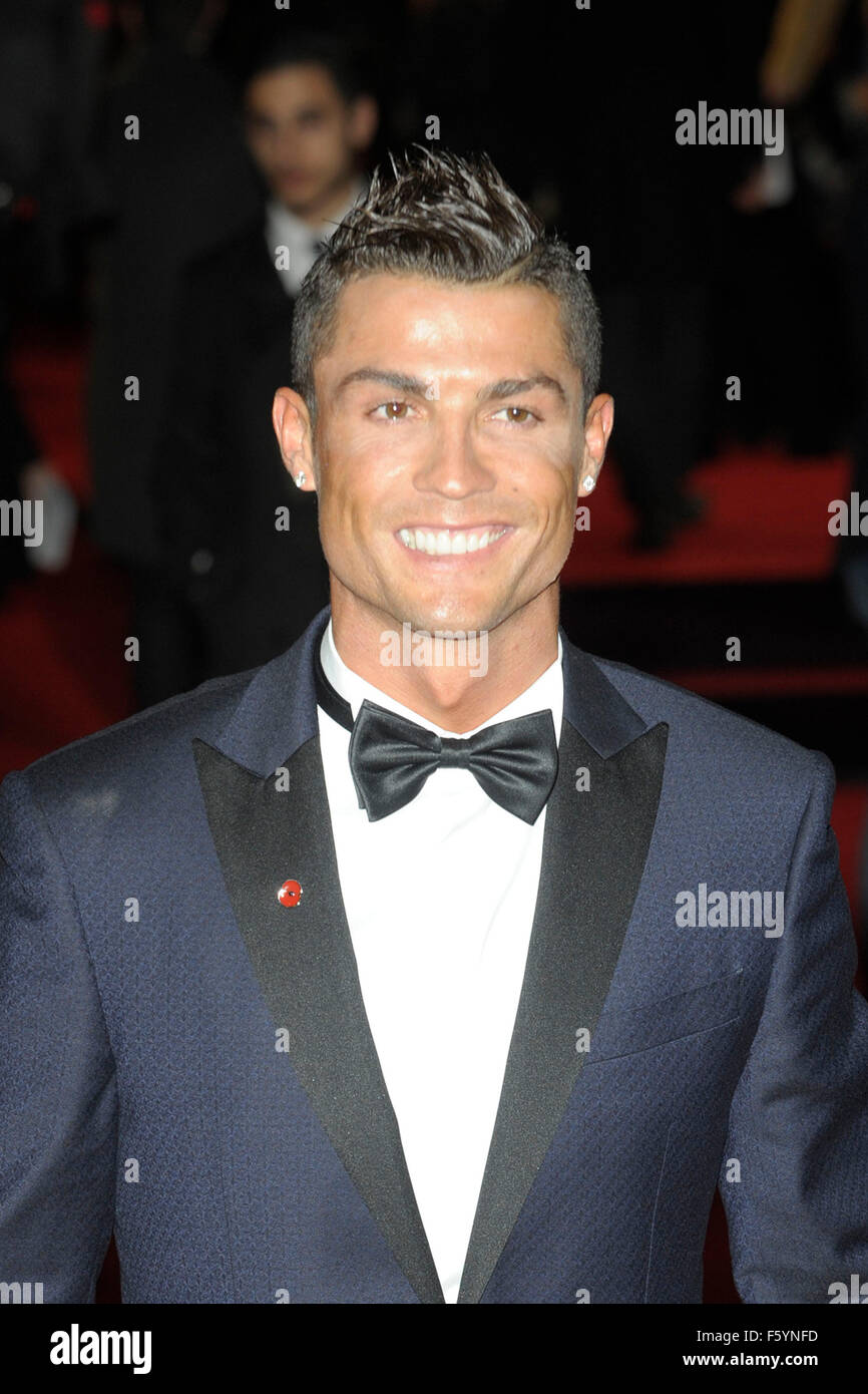 London, UK. 09th Nov, 2015. Ronaldo      attending the Would  Premiere of RONALDO  at the Vue West End London 9th Stock Photo