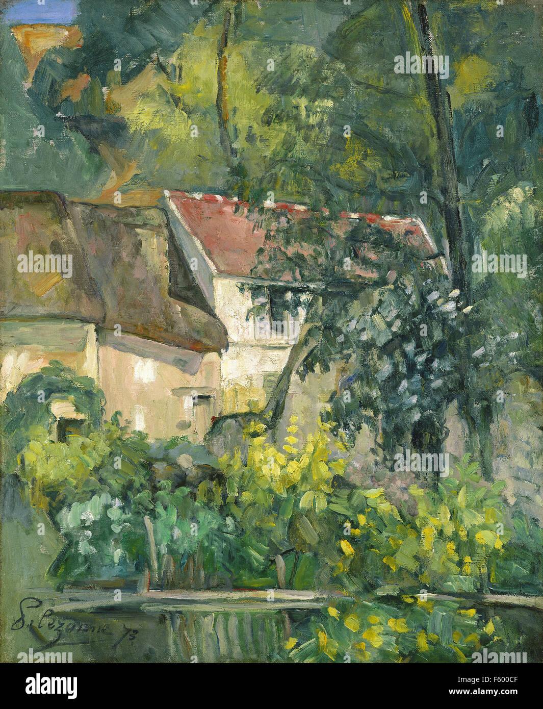 Paul Cézanne - House of Père Lacroix - Stock Image