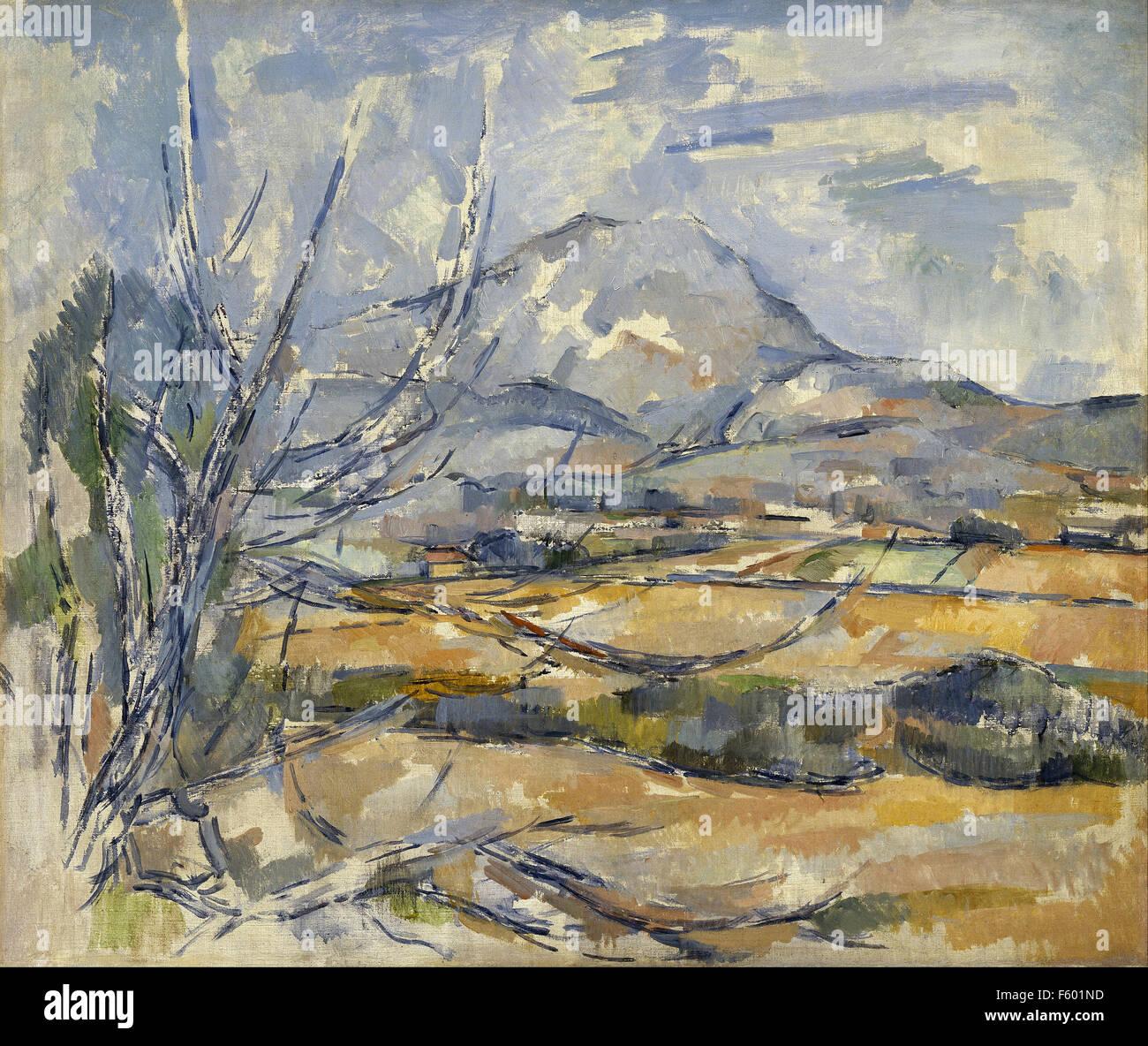 Paul Cézanne - Mont Sainte-Victoire 606 - Stock Image