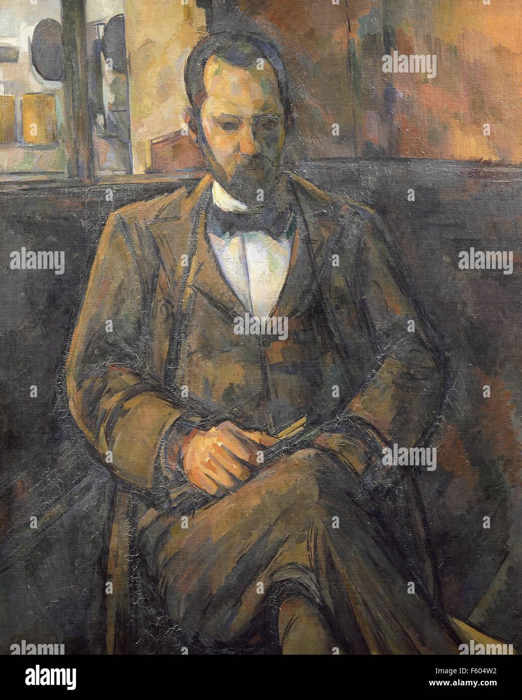 Paul Cézanne - Portrait of Ambroise Vollard  - 1899 - Stock Image