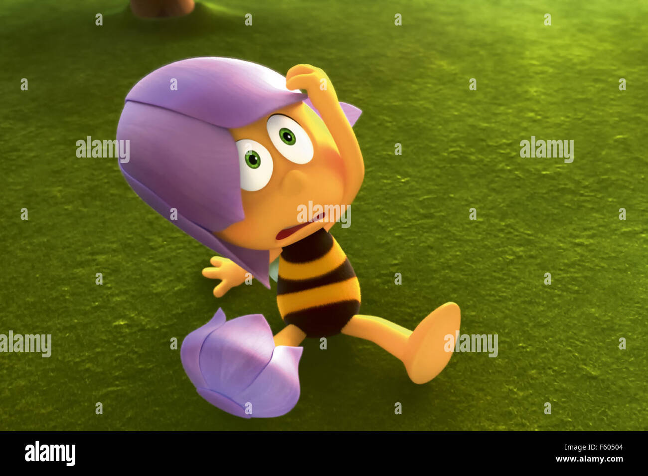 MAYA THE BEE MOVIE (2014) ALEXS STADERMANN (DIR) MOVIESTORE COLLECTION LTD - Stock Image
