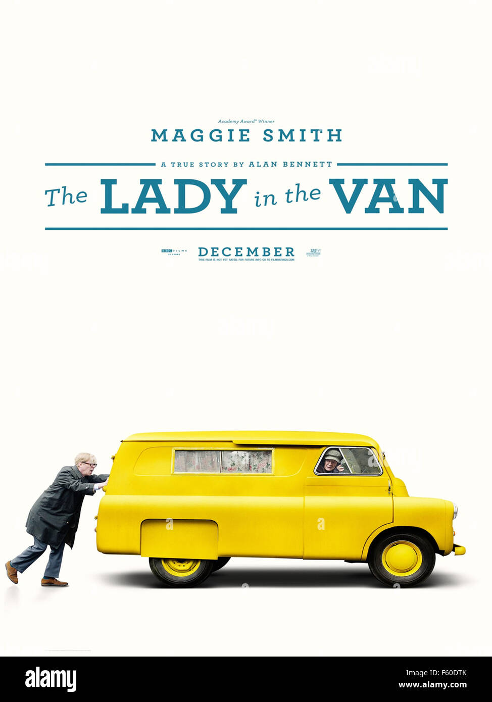 THE LADY IN THE VAN (2015)  NICHOLAS HYTNER (DIR)  MOVIESTORE COLLECTION LTD - Stock Image