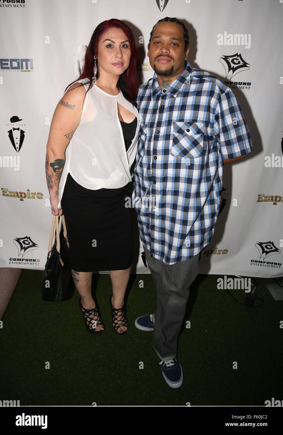 Sixx John & Ne-Yo's Empire Premiere Party hosted by Columbus Short Featuring: Babee Loc Where: Los Angeles, California, United States When: 24 Sep 2015