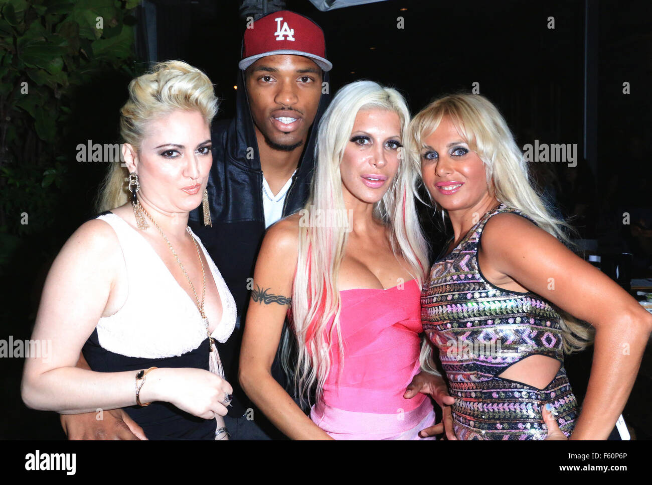Angelique Morgan angelique morgan, also known as frenchy, hosts a party for