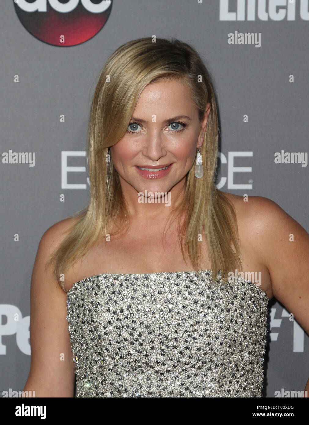 ABC's TGIT premiere event - Arrivals  Featuring: Jessica Capshaw Where: Los Angeles, California, United States When: Stock Photo