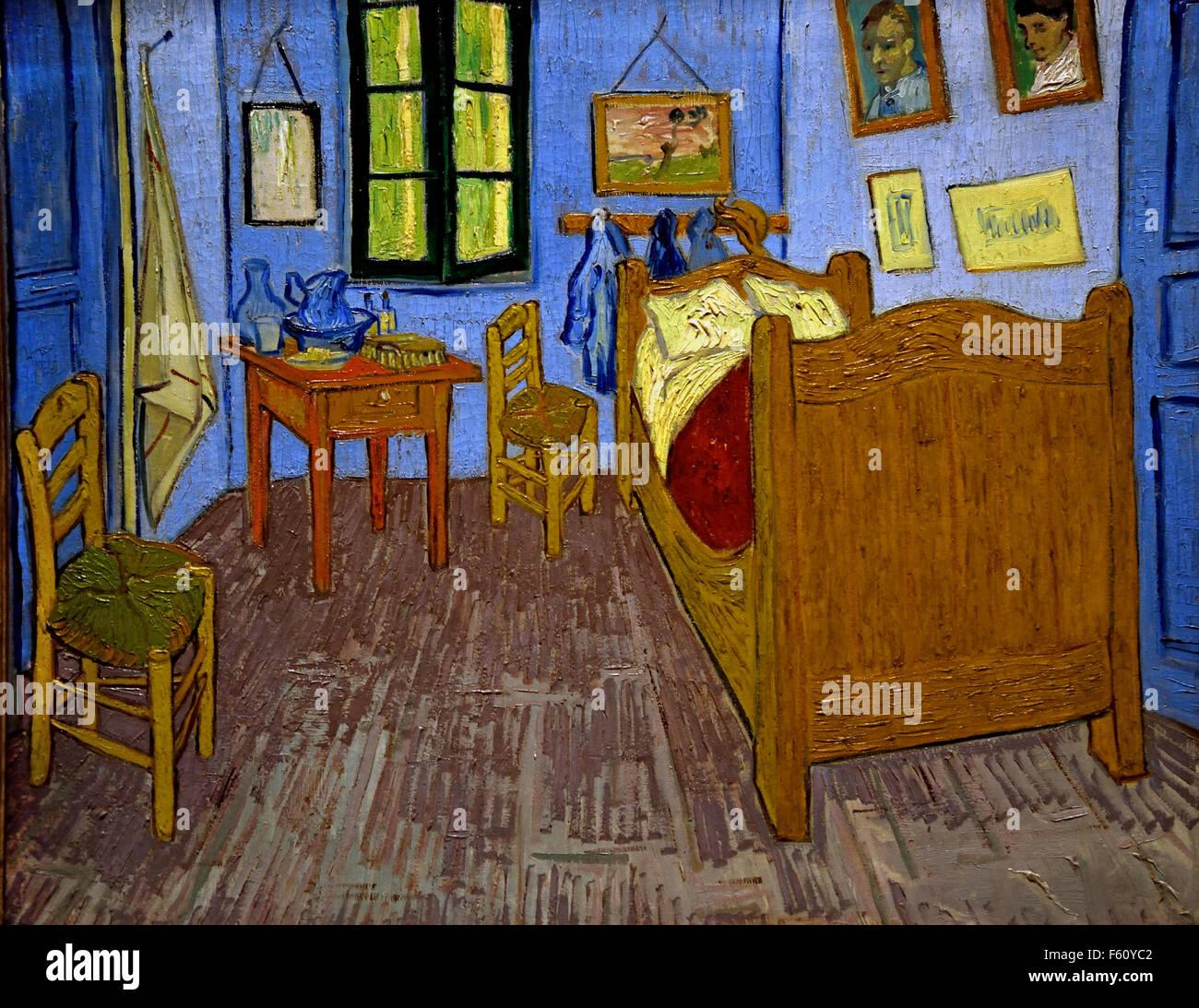 Vincent s Room in Arles  Vincent van Gogh 1853–1890 Dutch Netherlands - Stock Image