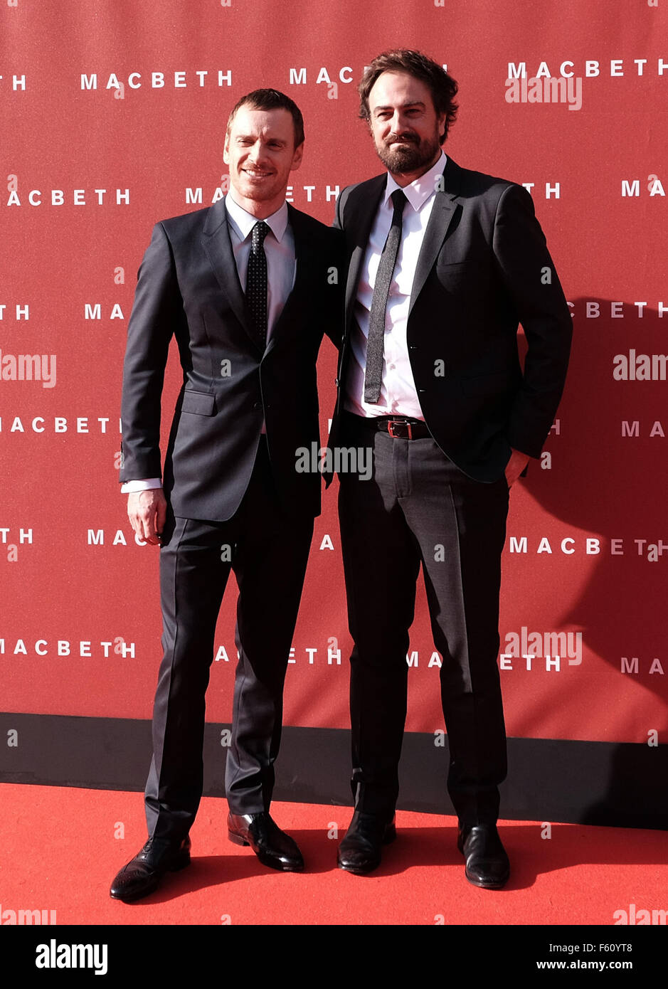 UK premiere of 'Macbeth' held at the Festival Theatre - Arrivals