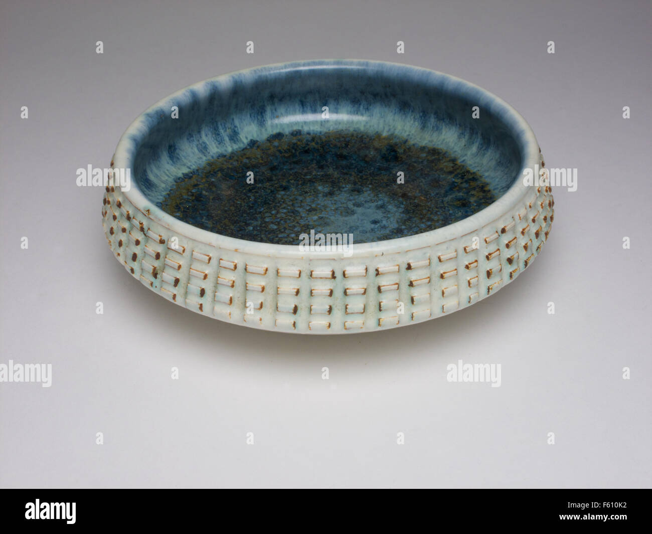 Poole Pottery 1970s bowl - Stock Image