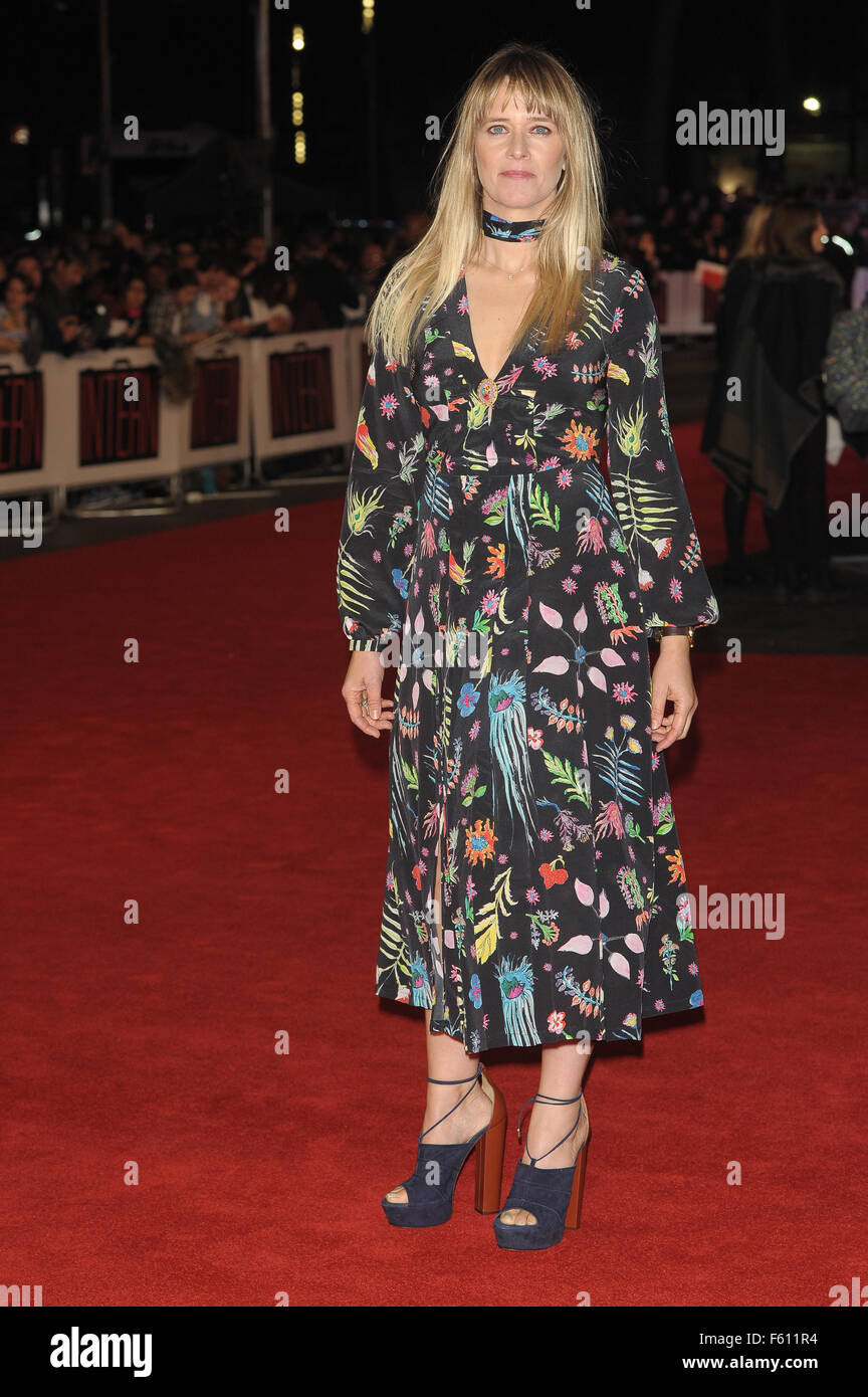'The Intern' - UK Film Premiere - Red Carpet  Featuring: Edith Bowman Where: London, United Kingdom When: - Stock Image