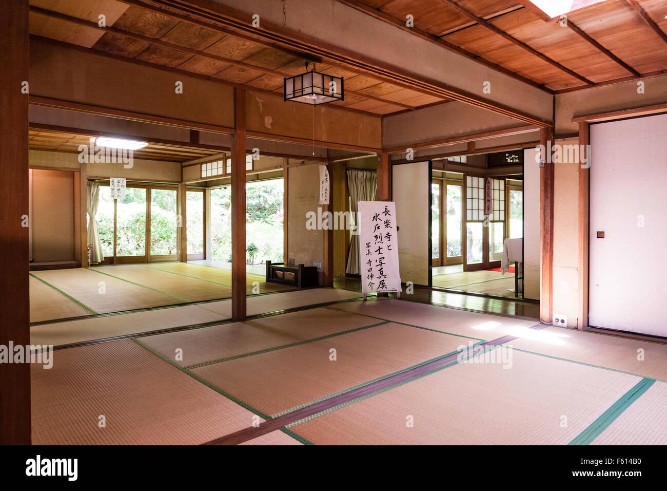 Minimalist Japanese Study Room