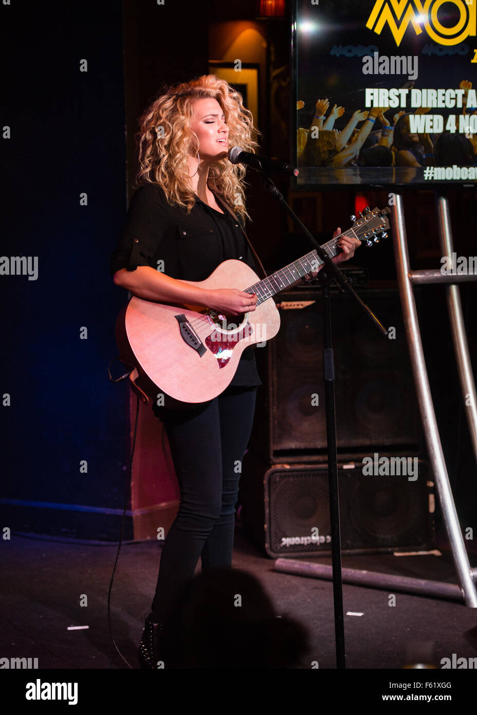 Nominations for the MOBO Awards are announced at London's Ronnie Scotts  Featuring: Tori Kelly Where: London, - Stock Image