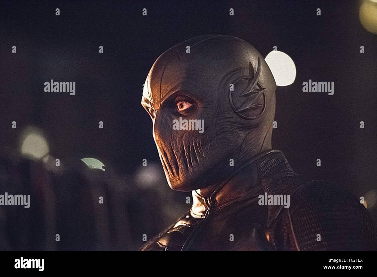 THE FLASH   2015 The CW TV series episode Enter Zoom with the character Reverse Flash - Stock Image