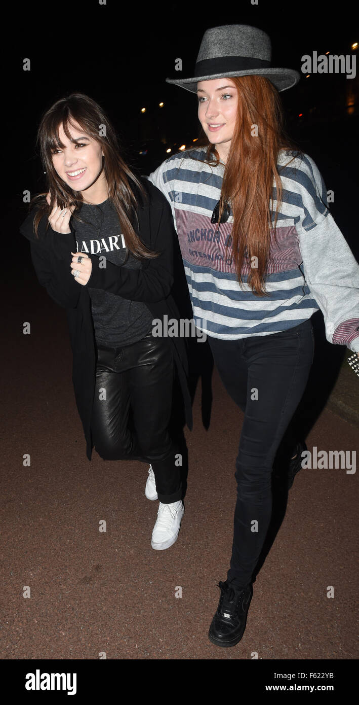Sophie turner and hailee steinfeld seen attending a meet and greet sophie turner and hailee steinfeld seen attending a meet and greet with fans in hyde park london the game of thrones star sophie and musician hailee seen m4hsunfo