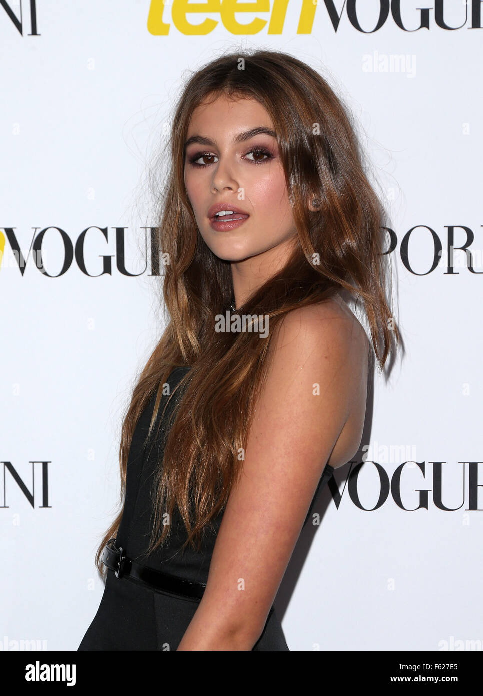 Teen Vogue Celebrates 13th Annual Young Hollywood Issue With Emporio Armani  Featuring: Kaia Gerber Where: Los Angeles, California, United States When:  02 ...