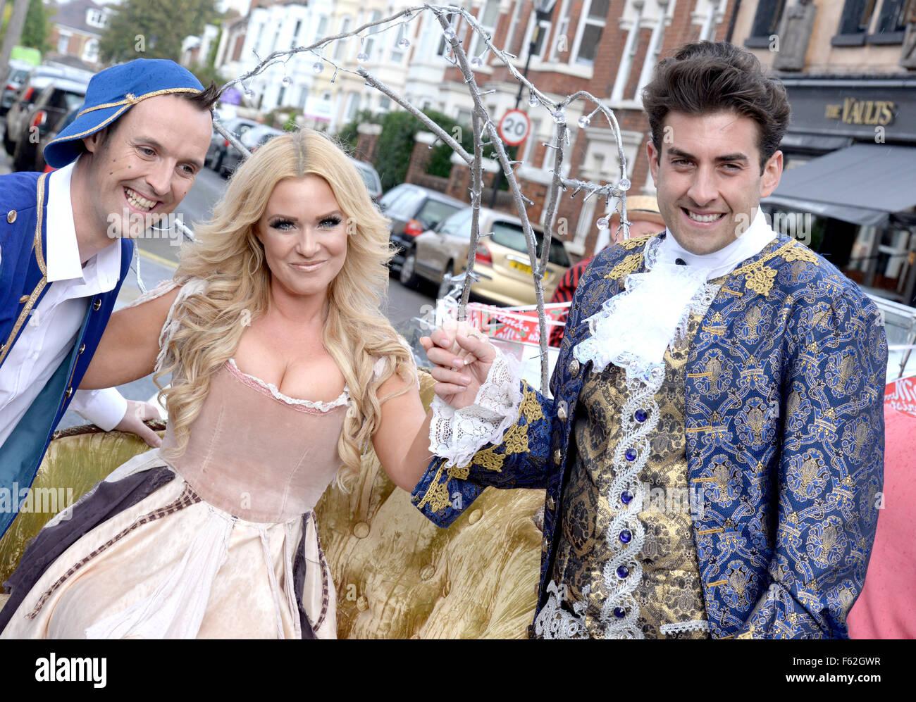Cinderella Christmas.The Launch Of Cinderella Christmas Panto Starring James