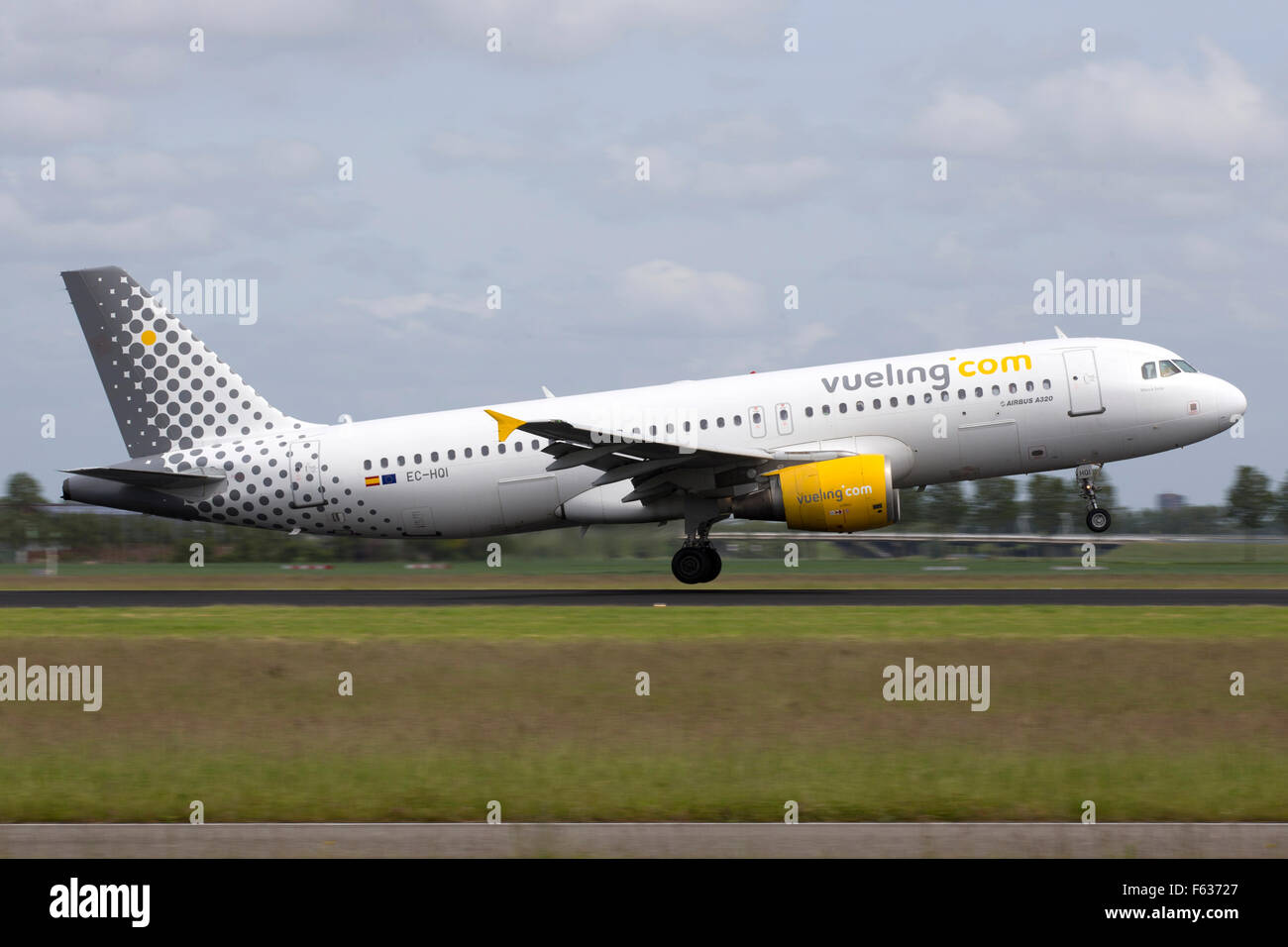 Vueling Airbus A320 - Stock Image