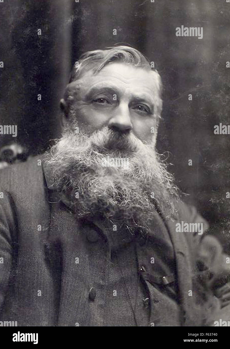 Auguste Rodin, French sculptor - Stock Image