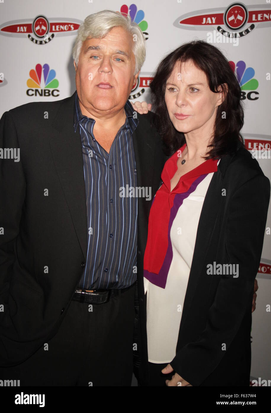 Launch Of Cnbc S Jay Leno S Garage At The Press Lounge At Ink 48