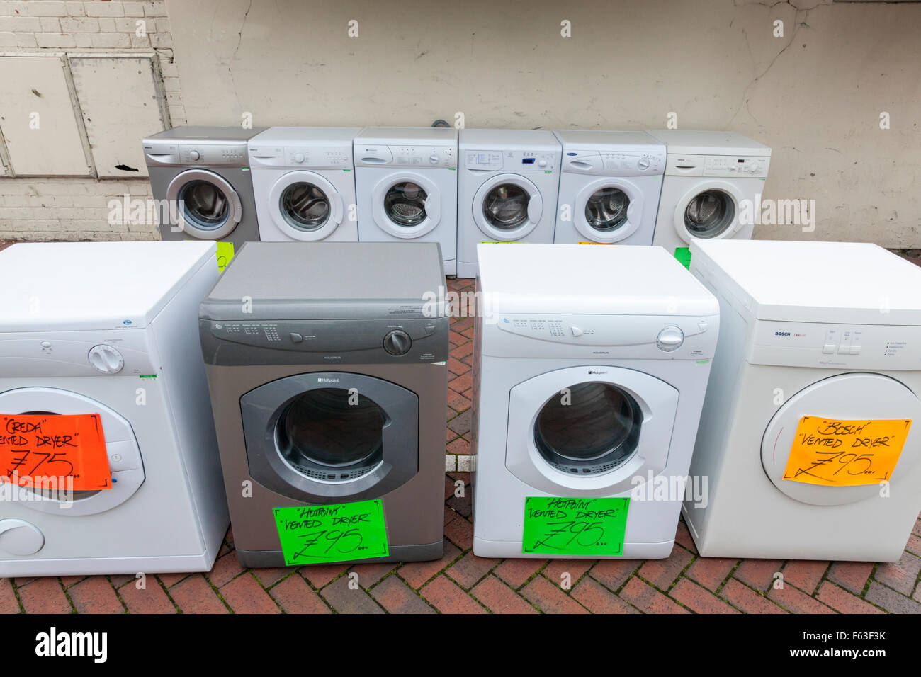 second hand washing machines and previously used tumble. Black Bedroom Furniture Sets. Home Design Ideas