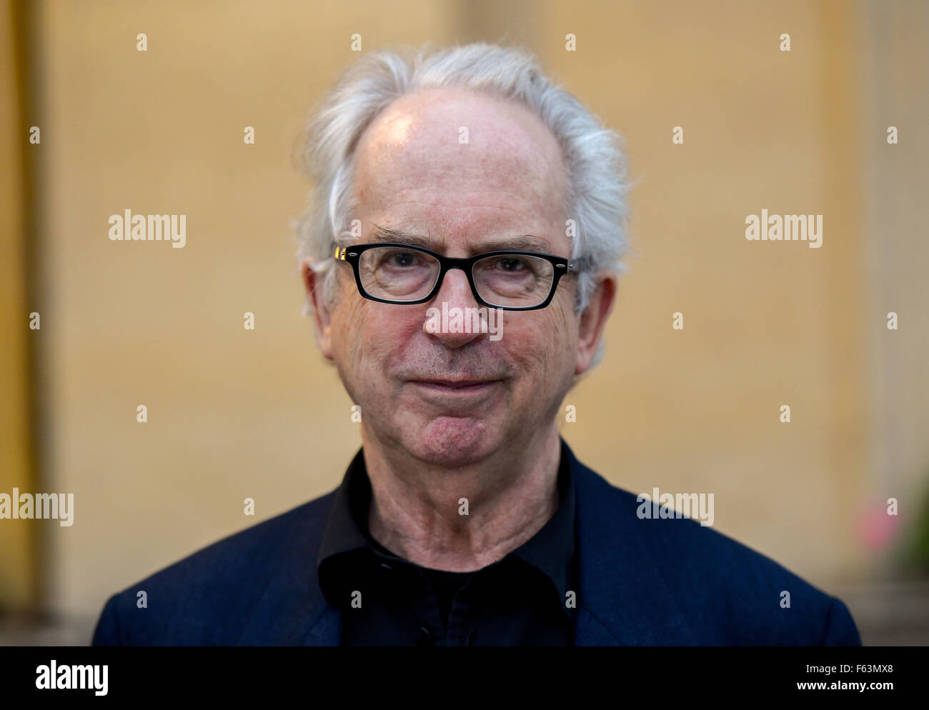 Cheltenham Literature Festival - Day 9  Featuring: Peter Carey Where: Cheltenham, United Kingdom When: 10 Oct 2015 - Stock Image