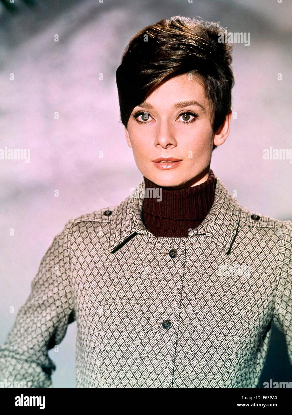 WAIT UNTIL DARK 1967 Warner Bros film with Audrey Hepburn Stock Photo