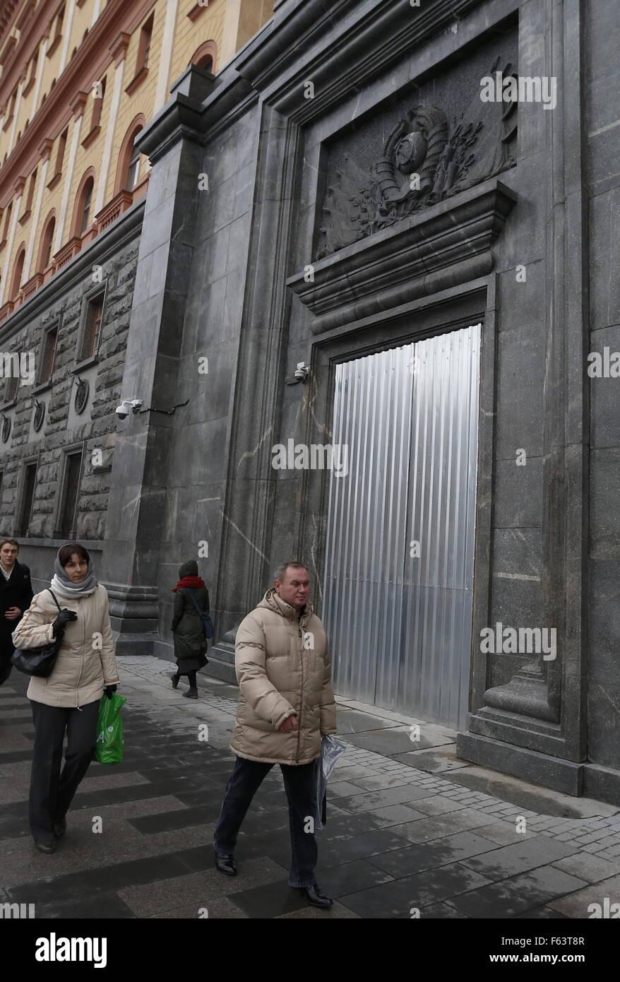 Metal doors in the city in Moscow 30