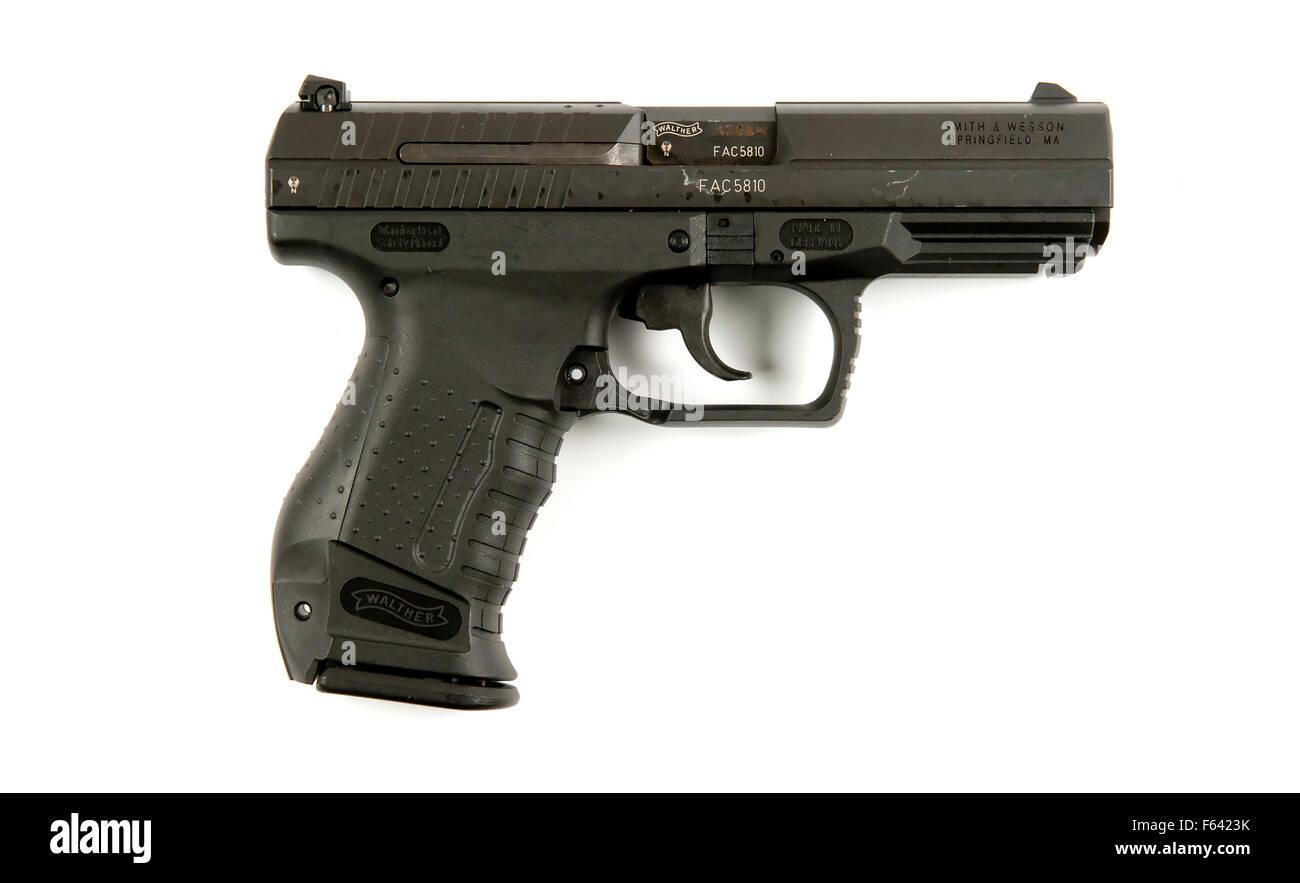 WaltherP99 AS handgun - Stock Image